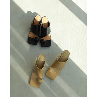 TODAYFUL - Squaretoe Leather Sandals