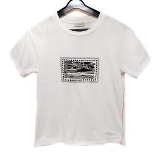 ポールスミス(Paul Smith)のポールスミス 半袖Tシャツ サイズM 白×黒(Tシャツ(半袖/袖なし))