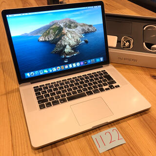 マック(Mac (Apple))の付属品完備!MacBook pro retina 15インチ Late2013(ノートPC)