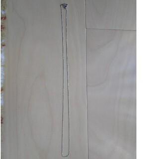 JEWELRY TSUTSUMI - K18WG刻印・ ボールチェーンネックレス  最長49㎝