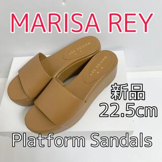 マリサレイ(MARISA REY)の1330⭐️MARISA REY⭐️サンダル⭐️ブラウン⭐️35⭐️新品(サンダル)