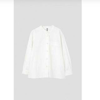 MARGARET HOWELL - MHL. カラーレスシャツ ホワイト