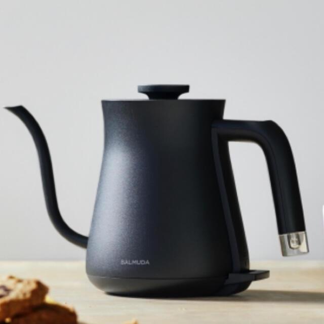 BALMUDA(バルミューダ)の新品未使用 BALMUDA The Pot BLACK 電気ケトル スマホ/家電/カメラの生活家電(電気ケトル)の商品写真