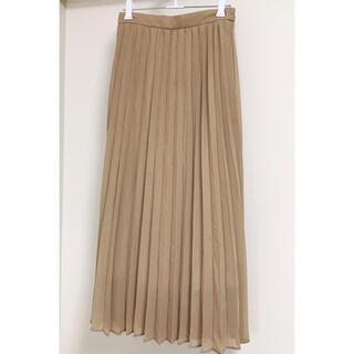 GU - プリーツスカート ロングスカート