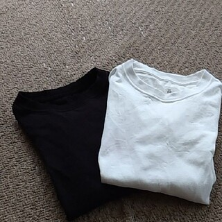 GU - GUTシャツ黒白