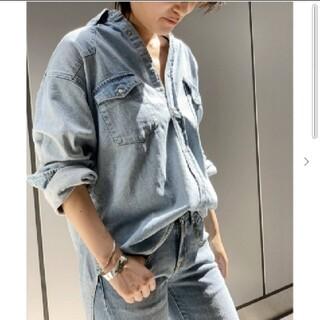 L'Appartement DEUXIEME CLASSE - AP STUDIO【ATTICK/アティック】オーバーダンガリーシャツ