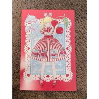 アンジェリックプリティー(Angelic Pretty)のAngelic Pretty Cherry Stamp ポストカード(写真/ポストカード)
