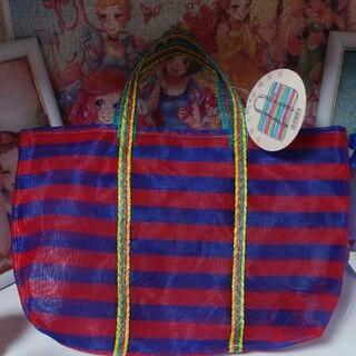 カルディ(KALDI)のカルディ台湾市場購物袋エコバッグボーダー(トートバッグ)