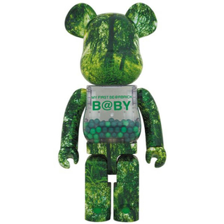 MY FIRST BE@RBRICK B@BY GREEN 1000%400%