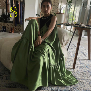 Ameri VINTAGE - ameri vintage アメリ MEDI SILKY STRAP DRESS