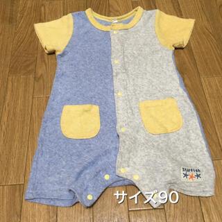 ニシマツヤ(西松屋)のサイズ90 ロンパース (その他)