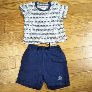 ブランシェス(Branshes)のブランシェス Tシャツ パンツ セット 80(Tシャツ)
