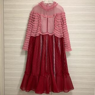 Drawer - 【 VALENTINO 】ヴァレンティノ ★レース・装飾・ドレス★ 1回着用