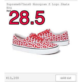 Supreme - Supreme®/Vans® Monogram S Logo Skate Era