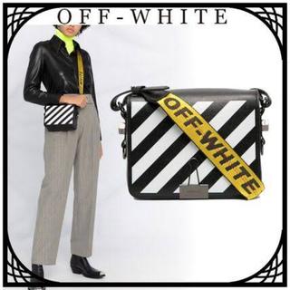 OFF-WHITE - オフホワイト off-white バインダークリップ ショルダーバッグ