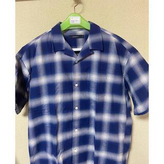 BEAUTY&YOUTH UNITED ARROWS - オーバサイズ オープンカラーシャツ チェックシャツ