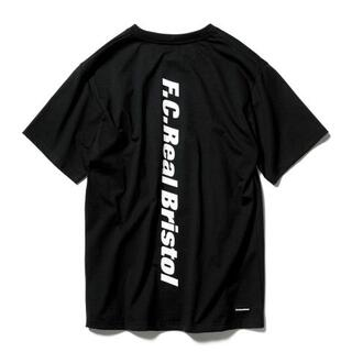 F.C.R.B. - FCRB 21SS BIG VERTICAL LOGO POCKET 黒x白