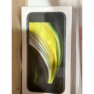 新品 SIMフリー iphone SE 64GB ブラック Apple se2