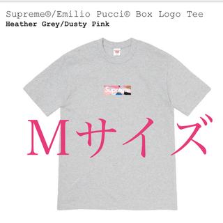 シュプリーム(Supreme)のSupreme Emilio Pucci Box Logo Tee M(Tシャツ/カットソー(半袖/袖なし))