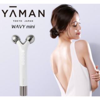 ヤーマン(YA-MAN)の【新品未使用】ヤーマン WAVY mini ウェイビー ミニ 美顔ローラー(フェイスケア/美顔器)