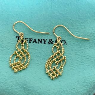 Tiffany & Co. - 激レア 超美品 ティファニー ピアス トライアングル K18 750 ゴールド