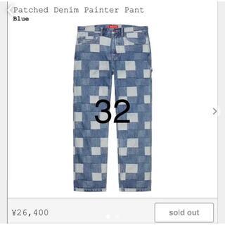 Supreme Patched Denim Painter Pant