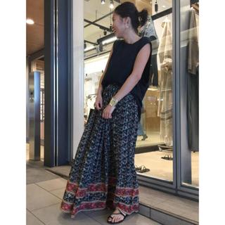 DEUXIEME CLASSE - AP STUDIO STAR MELA エスニックマキシギャザースカート