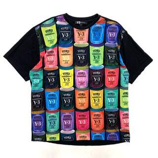 Y-3 - 16AW Y-3 CAN T-SHIRT 缶 ポップアート Tシャツ S 黒