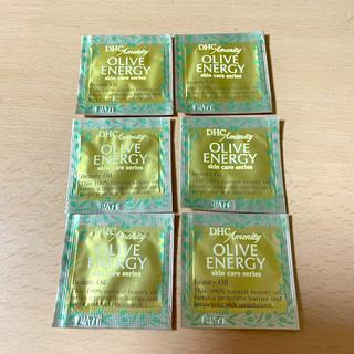 ディーエイチシー(DHC)のDHC オリーブバージンオイル 化粧用油 フェイスオイル サンプル 美容液(フェイスオイル/バーム)