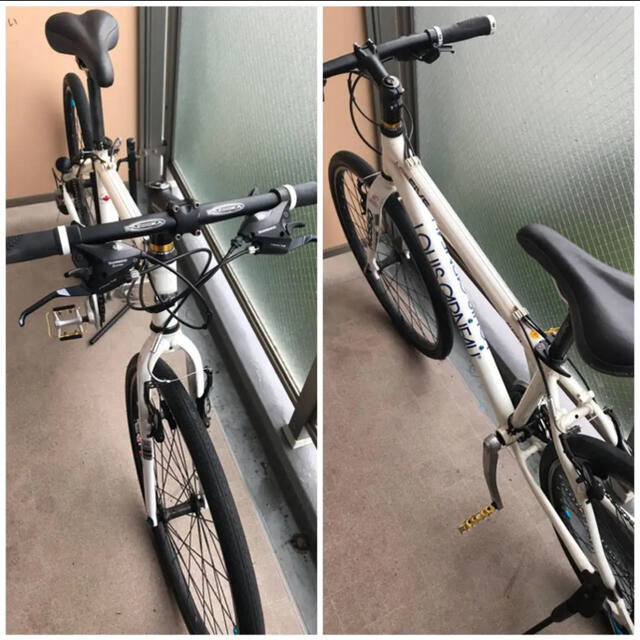 LOUIS GARNEAU(ルイガノ)のLOUIS GARNEAU ルイガノ LGS-FIVE おまけ付き スポーツ/アウトドアの自転車(自転車本体)の商品写真