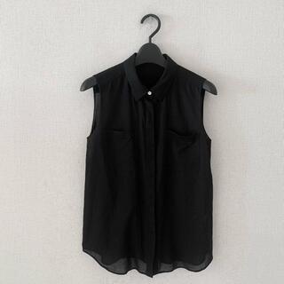 トゥモローランド(TOMORROWLAND)のトゥモローランド♡ノースリーブシャツ(シャツ/ブラウス(半袖/袖なし))