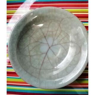 京焼き 清水焼 青磯貫入 和鉢 窯元名彫り入り(食器)
