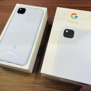 Google - Google pixel 4a Barely Blue