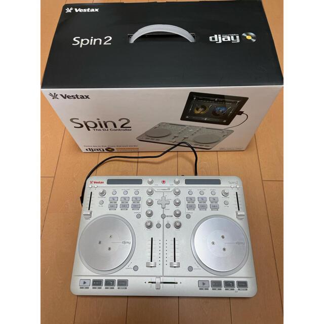 Vestax Spin2 DJ Controller 楽器のDJ機器(DJコントローラー)の商品写真
