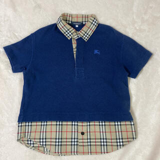 バーバリー(BURBERRY)の130 バーバリー 重ね着風トップス シャツ ポロシャツ(その他)