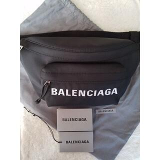 Balenciaga - BALENCIAGA バレンシアガ Wheel ベルトバッグ Black