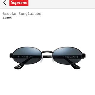 シュプリーム(Supreme)のsupreme Brooks Sunglasses Black(サングラス/メガネ)