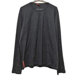 プラダ(PRADA)のプラダスポーツ 長袖Tシャツ サイズXXL XL(Tシャツ/カットソー(七分/長袖))
