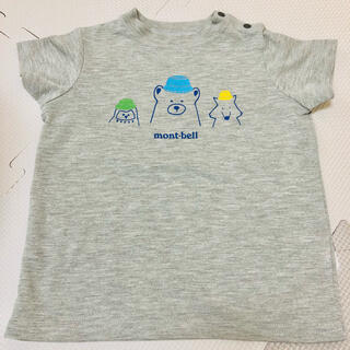 mont bell - 【未使用】nont-bell モンベル kids Tシャツ 80cm 動物