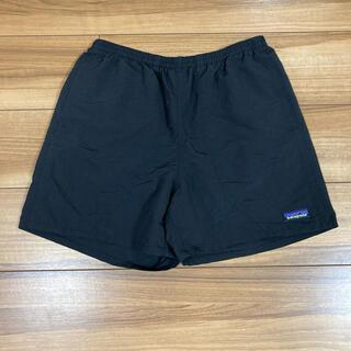 パタゴニア(patagonia)のパタゴニア  バギーズショーツ ブラック Sサイズ 5インチ(ショートパンツ)