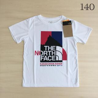 THE NORTH FACE - 新品THE NORTH FACEザノースフェイス140キッズTシャツホワイト