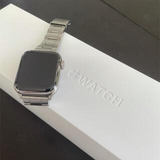 Apple Watch - Apple Watch series4本体 40mmステンレス アップルウォッチ