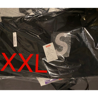 Supreme - supreme swarovski S logo hoodie XXL