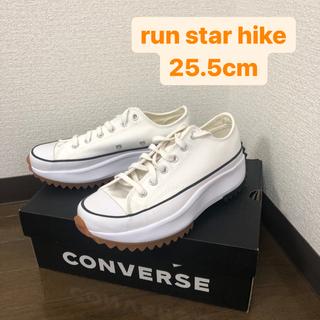 CONVERSE - Converse ホワイト Run Star Hike 25.5cm