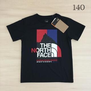 THE NORTH FACE - 新品THE NORTH FACEザ・ノースフェイス140キッズTシャツブラック