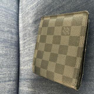 ルイヴィトン(LOUIS VUITTON)のLOUIS VUITTON ダミエ グラフィット  二つ折り財布(折り財布)