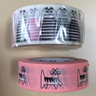 Lisa Larson - リサラーソン 廃盤 マスキングテープ 新品 2個 猫 ネコ ねこ