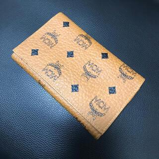 エムシーエム(MCM)のMCM エムシーエム 二つ折り財布⭐︎⭐︎(財布)