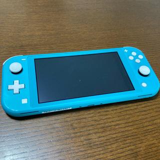 Nintendo Switch  Lite ターコイズ☆保証期間残あり☆