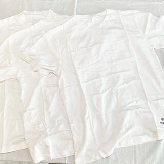 ナノユニバース(nano・universe)のnano universe Tシャツ三枚セット ホワイト Mサイズ メンズ(Tシャツ/カットソー(半袖/袖なし))